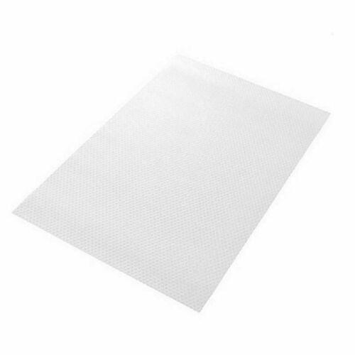 4 PCS Easy Clean Kitchen Antibacterial Cabinet Pad Anti Slip Fridge Liner Mat UK