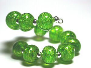 VictoriaGail-Lampworked-Beads-Mossy-Dell-Lg