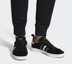 adidas-Originals-Campus-Schuh-Low-Cut-Sneaker-Turnschuh-CQ2049-black-neu-SALE