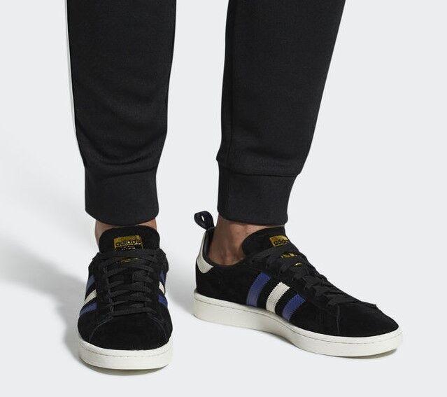 adidas Campus Turnschuhe Schwarz weiss blau Cq2049 44 2 3 schwarz