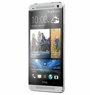 HTC ONE Phone M7 BoomSound Android LTE 32GB UltraPixel QuadCore Unlocked Silver