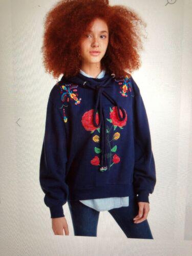 bnwt Carla Desigual 8434486523821 l femminile uk14 Sweatshirt r6dYwXdq