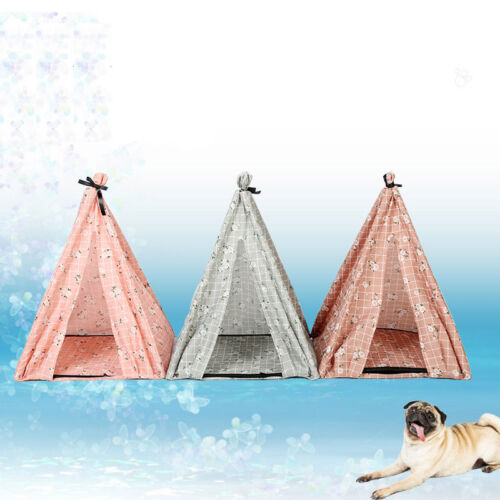 Portable Folding Dog Pet House Bed Tent Cat Indoor Outdoor Playpen Teepee New