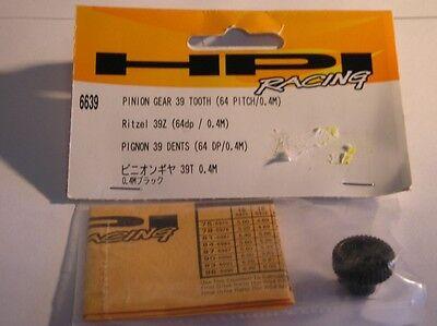 6639 Hpi Racing I Pezzi Di Ricambio Pignone Ingranaggio 39 Denti 64 Pece / 0,4 M Radiocomando-mostra Il Titolo Originale Beneficiale Per Lo Sperma