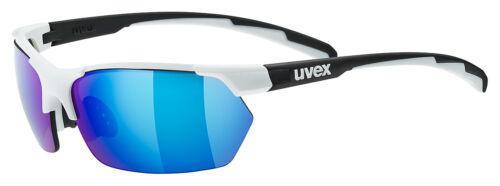 Uvex Sport Style 114 changement vitres Vélo Lunettes Blanc//Noir