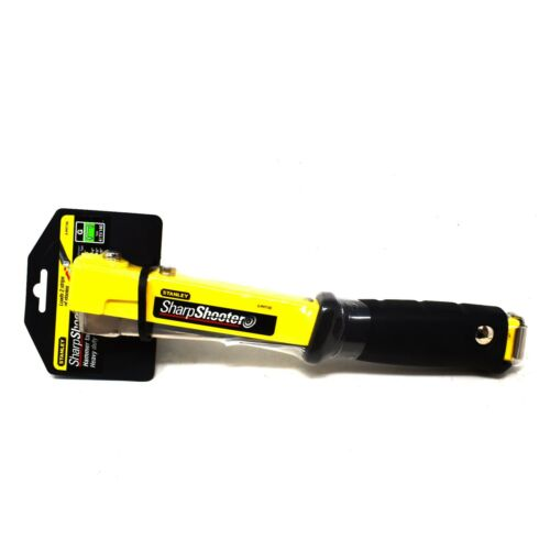 Grapadora de martillo STANLEY ® Heavy Duty Compacto Tapicería Clavadora Alfombra de aislamiento