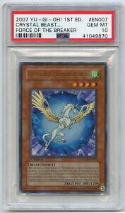 Yu-Gi-Oh-1st-Edition-Crystal-Beast-Sapphire-Pegasus-FOTB-EN007-Ultra-PSA-10