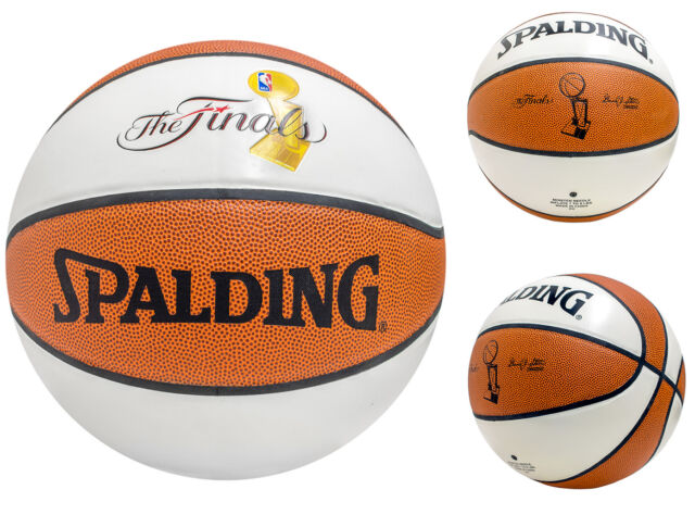 Spalding The Finals Nba Champions Basketball Official Size 29 5 White Brown For Sale Online Ebay