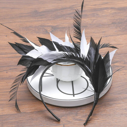 Ladies/'s Feather Headband Hairband Party Hair Accessories Costume Festival