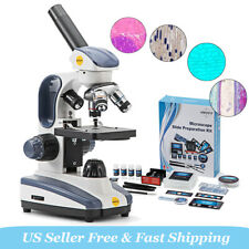 Swift 40x 1000x Student Biology Science Compound Microscope With 66 Experiment Kit