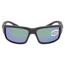 d342cadaadc40 NEW Costa del Mar Fantail TF 01 OGMGLP Blackout Frame   Green Mirror 580G  Lenses