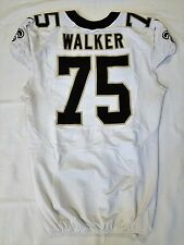#75 Tyrunn Walker Authentic Nike Game Worn Jersey from New Orleans Saints