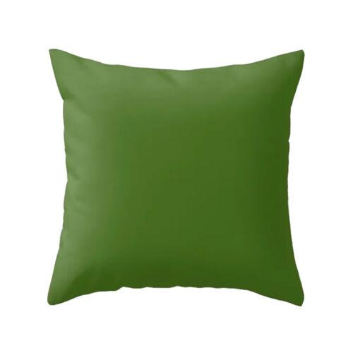 Cushion Cover Pillow Cover Pillow Case Solid Color Home Decor Sofa Throw Pillows