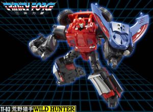 NEW TFC Toy Transformers TF-03 WildHunter Road Caesar Blacker Figure In Stock