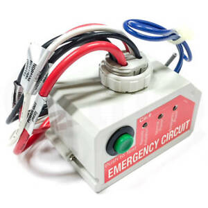 Image Is Loading Wattstopper Elcu 200 U Emergency Lighting Control Unit