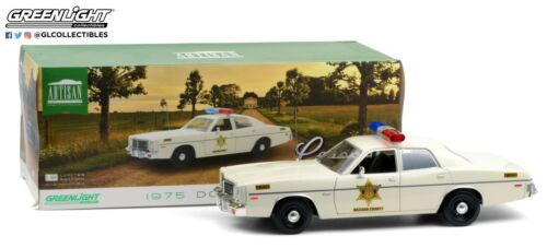 Hazzard County Sheriff 19092 GreenLight 1:18 Artisan 1975 Dodge Coronet
