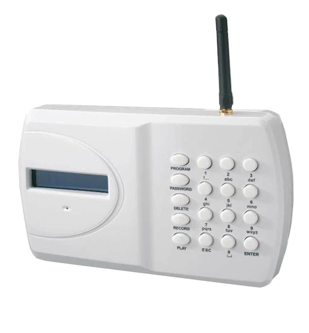 Gjd intruso alarma antirrobo discurso GSM SMS dialler Con Pantalla Lcd