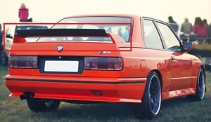 BMW-3-SERIES-M3-E30-REAR-BOOT-TRUNK-SPOILER-NEW-TAILGATE-EVO-LOOK
