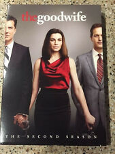 Good Wife: The Second Season (DVD, 2011, 6-Disc Set) with Slip Cover