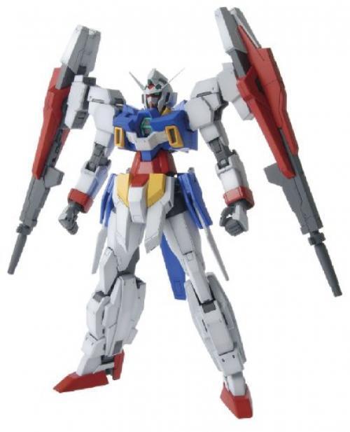 Nuovo Bandai MG 1 100 Gundam Age-2 Doppio Bullet Modello Plastica Kit Età F S