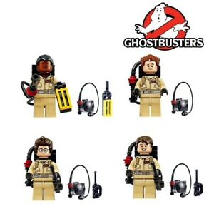 GHOSTBUSTERS-FIGURINES-JOUET-VENKMAN-RAYMOND-COMPATIBLE-LEGO-4-PIECES