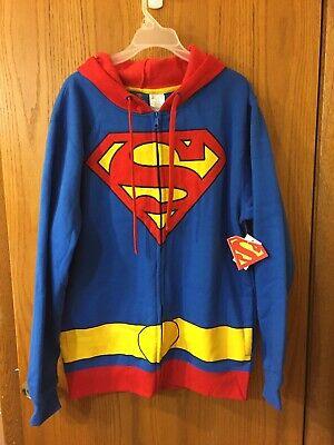 NWT DC comics superman sweatshirt size L