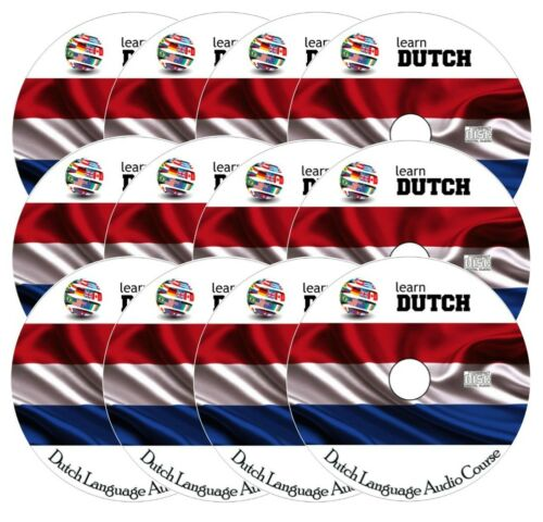 Complete Language Training Course on 12 AUDIO CDs Learn to speak DUTCH