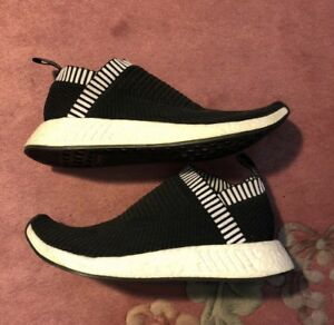 2fcc2708683 Image is loading Adidas-NMD-CS2-City-Sock-Primeknit-Shock-Pink-