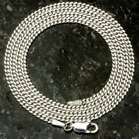 Curb 060-20 1.5mm 6 Gram Italian Link .925 Sterling Silver Chain 20 on sale