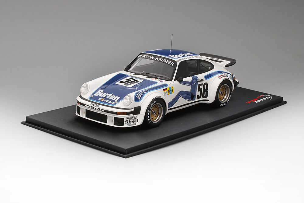 Top Speed Porsche 934 58 Kremer Racing Winner Le Mans GT Class 2018 1/18