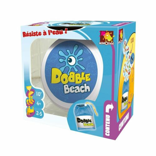Dobble Beach Card Game