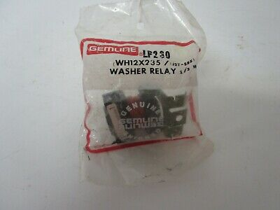 NEW IN BAG GE WH12X468  WASHER RELAY