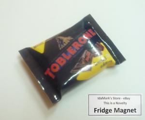 Details About Toblerone Mini Dark Chocolate Pack Fridge Magnet Novelty Indonesia 3d Large 25