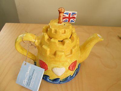BN - Tony Carter  Collectable Sand castle Teapot