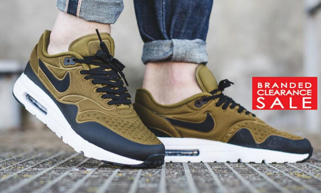 BNWT New Mens Nike Air Max 1 Ultra SE Flak Olive Größe 8 10 UK Größes Neuartiges Design