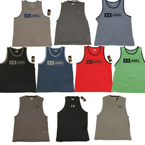 10c5337a Details about Under Armour Mens Sleeveless Tank Top Shirt - Size M L XL XXL  - New w/ Tags