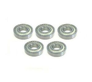 Pack-of-5-6202-2Z-ZZ-62022Z-zz-Metal-Shielded-Bearing-15x35x11mm