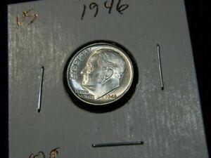 BU #21717  FREE SHIPPING 1946-P Roosevelt Dime