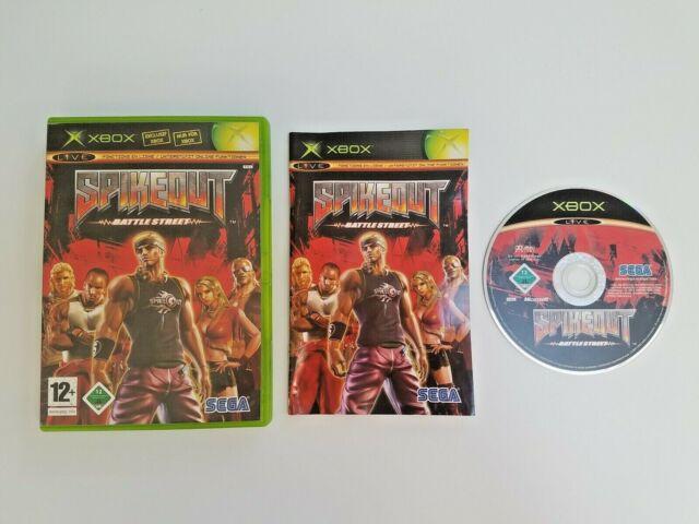 SPIKEOUT : BATTLESTREET Microsoft Xbox 1ère génération FR Complet #RETROGAMING
