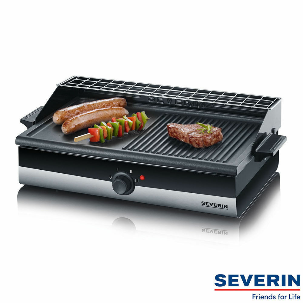 Severin Barbecue Grill Kg 2367 Grill Barbecue Electric Grill Grill Plate tischgril