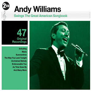 Andy-Williams-Great-American-Songbook-2CD-SET-BRAND-NEW-SEALED-GREATEST-HITS