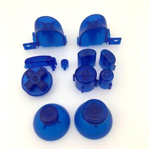 Details about New Full Set L R ABXY Z Buttons Set For GameCube Controller  For NGC -Clear Blue