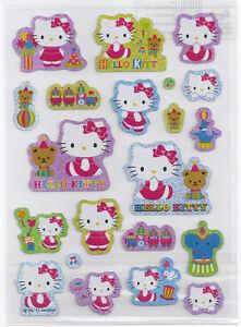 Sanrio Hello Kitty Stickers Glitter #939