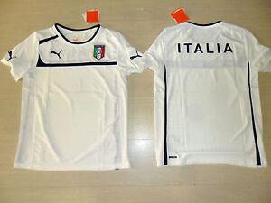 ITALY PUMA SHIRT TRAINING SIZE S BIANCA T-SHIRT TRAINING JERSEY ... 99fdf660d5129