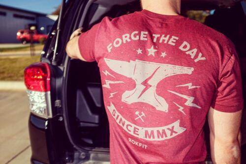 Rokfit FORGE Le Jour T-shirt crossfit