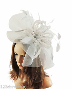Yellow Fascinator Hat For Weddings//Ascot//Proms With Headband H1