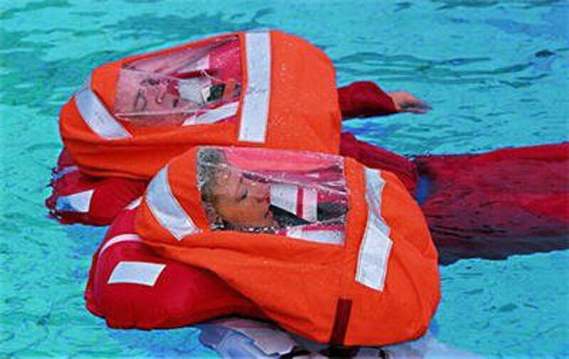 Spraycap für AWN Rettungsweste Security II 220N Sprayhood Schwimmweste Rettung