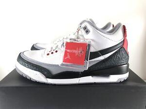 e5f24637de83 Nike Air Jordan Retro 3 NRG Tinker Hatfield Cement OG AQ3835-160 ...