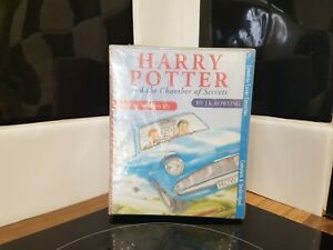 HARRY-POTTER-and-the-Chamber-Of-Secrets-Audiobook-Stephen-Fry-Cassette