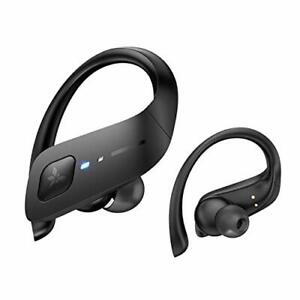 Axloie Wireless Earbuds, Bluetooth 5.0 Headphones True Premium Black